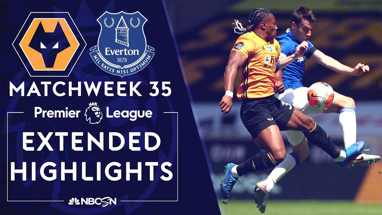 Wolves v. Everton | PREMIER LEAGUE HIGHLIGHTS | 7/12/2020 ...
